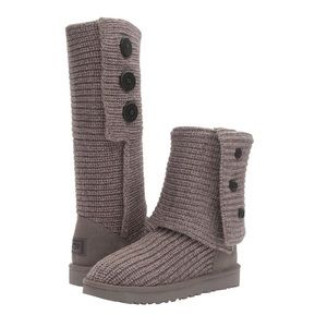 NWOT Ugg Cardy Boot - Grey